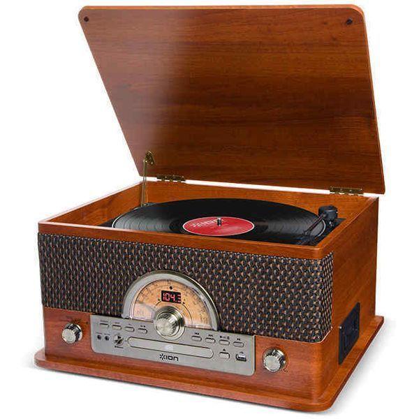 ION アイオンオーディオ Superior LP Bluetoothワイヤレス再生対応オールインワン ミュージックプレーヤー