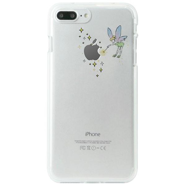 iPhone8Plus/ iPhone7Plus ケース Dparks ディーパークス iPhone 8 Plus / 7 Plus ソフトクリアケース ティンカーベル DS9088i7P ネコポス可|ec-kitcut|02
