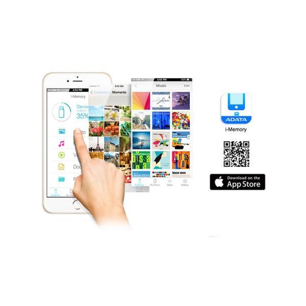 iPhone iPad カードリーダー ADATA エーデータ AI910 Lightning Card Reader Plus - Three-Way Share ALRAI910CWH ネコポス送料無料|ec-kitcut|06
