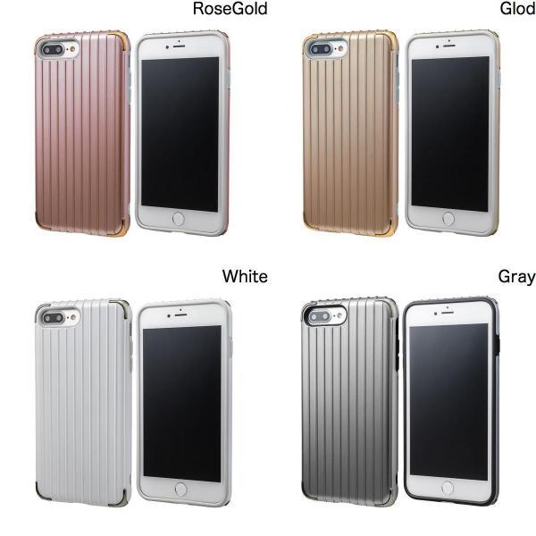 iPhone8Plus/ iPhone7Plus ケース GRAMAS iPhone 8 Plus / 7 Plus COLORS Rib 2 Hybrid Case グラマス ネコポス送料無料 ec-kitcut 02