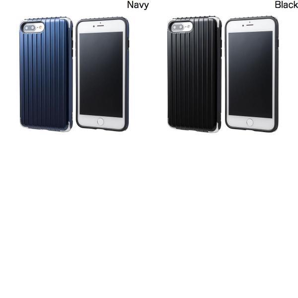 iPhone8Plus/ iPhone7Plus ケース GRAMAS iPhone 8 Plus / 7 Plus COLORS Rib 2 Hybrid Case グラマス ネコポス送料無料 ec-kitcut 03