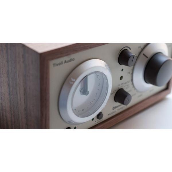 ワイヤレススピーカー Tivoli Audio Model Three BT Bluetooth ワイヤレス ラジオ・スピーカー アナログクロック付き  チボリオーディオ ネコポス不可|ec-kitcut|04