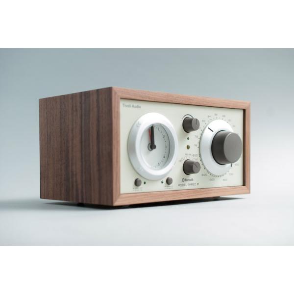 ワイヤレススピーカー Tivoli Audio Model Three BT Bluetooth ワイヤレス ラジオ・スピーカー アナログクロック付き  チボリオーディオ ネコポス不可|ec-kitcut|05