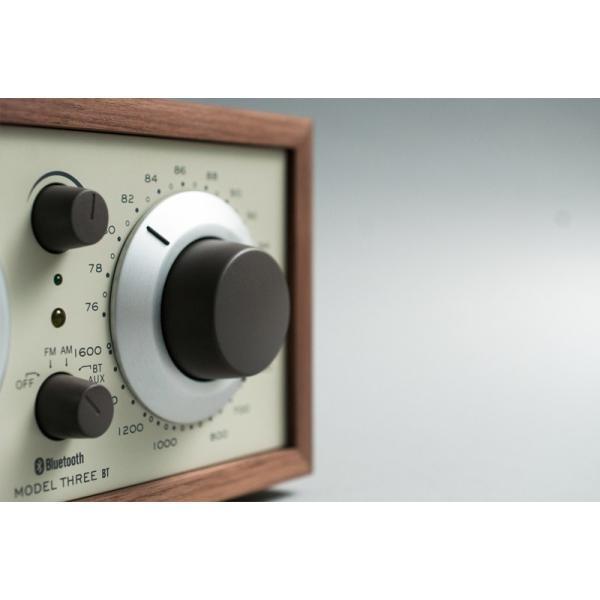 ワイヤレススピーカー Tivoli Audio Model Three BT Bluetooth ワイヤレス ラジオ・スピーカー アナログクロック付き  チボリオーディオ ネコポス不可|ec-kitcut|06