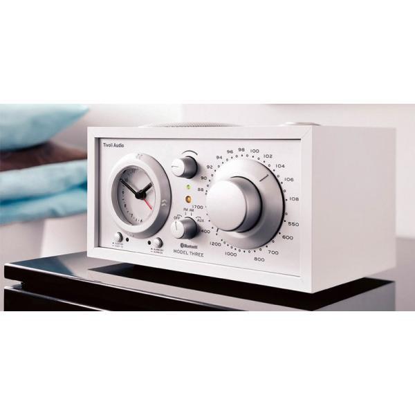 ワイヤレススピーカー Tivoli Audio Model Three BT Bluetooth ワイヤレス ラジオ・スピーカー アナログクロック付き  チボリオーディオ ネコポス不可|ec-kitcut|09