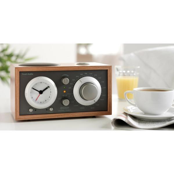 ワイヤレススピーカー Tivoli Audio Model Three BT Bluetooth ワイヤレス ラジオ・スピーカー アナログクロック付き  チボリオーディオ ネコポス不可|ec-kitcut|10