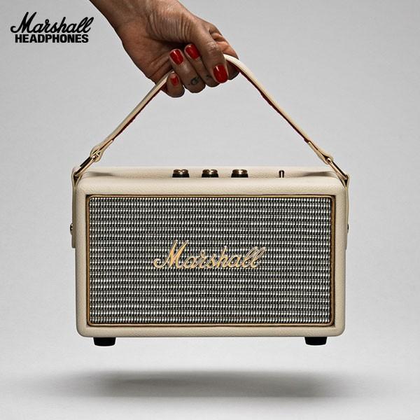 RoomClip商品情報 - マーシャル スピーカー Marshall Headphones マーシャル ヘッドホンズ KILBURN Bluetooth スピーカー Cream ZMS-04091190 ネコポス不可 国内正規品