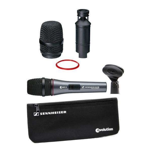 マイクロホン SENNHEISER evolution 800シリーズ e865-S エレクトレットコンデンサーマイクロフォン ネコポス不可|ec-kitcut|02