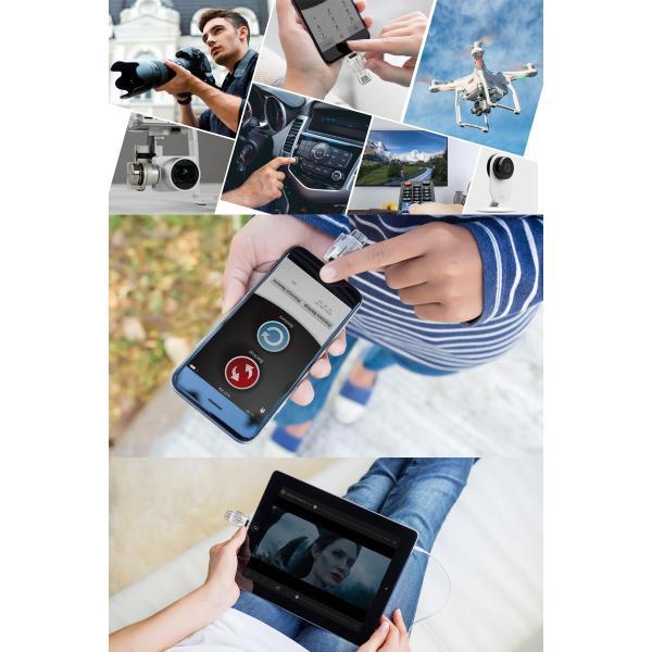 iPhone iPad カードリーダー PhotoFast フォトファースト iType-C Reader USB-C to Lightning micro SDカードリーダー ホワイト iType-C Reader ネコポス不可|ec-kitcut|05