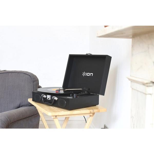 レコードプレーヤー ION Audio Vinyl Transport トランク型レコードプレーヤー アイオンオーディオ ネコポス不可