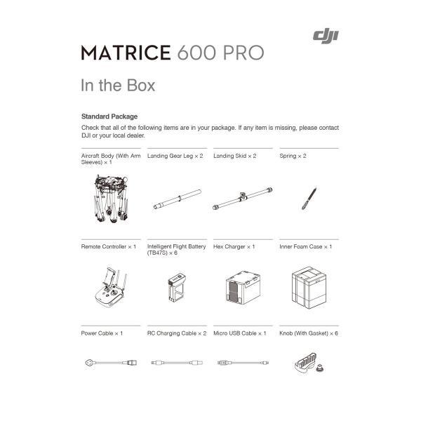 ドローン DJI ディージェイアイ MATRICE 600 Pro CP.SB.000311 ヤマト便配送 国内正規品 ec-kitcut 11