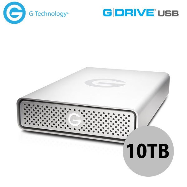 G-Technology 8TB G-DRIVE USB 3.0 Silver JP 外付けHDD ジーテクノロジー (ハードディスク) 0G03909 #