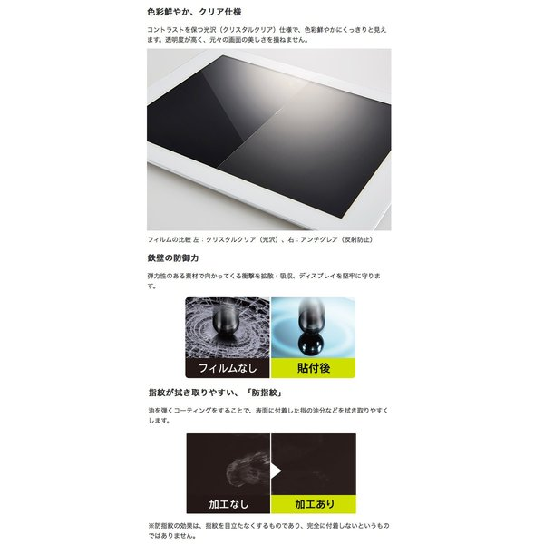iPhone8 / iPhone7 /iPhone6s / iPhone6 フィルム Simplism シンプリズム iPhone 8 / 7 / 6s / 6 曲面対応 衝撃吸収 TPU 液晶保護フィルム 光沢 ネコポス可|ec-kitcut|03
