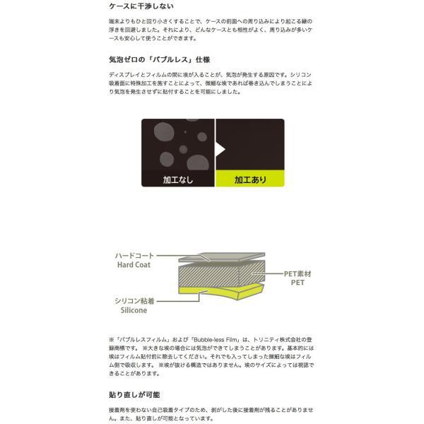 iPhoneX 保護フィルム Simplism シンプリズム iPhone XS / X 衝撃吸収 液晶保護フィルム 光沢 TR-IP178-PF-SKCC ネコポス可 ec-kitcut 03