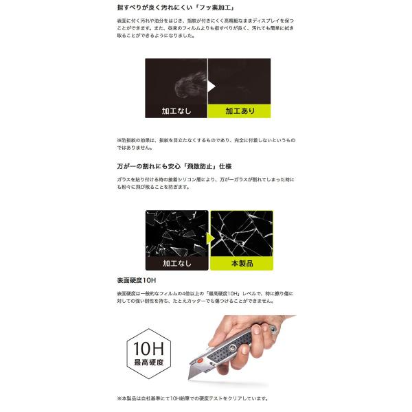 Simplism シンプリズム iPhone XS / X  FLEX 3D  女性専用 ファンデージョンの付きにくい複合フレームガラス 0.48mm ホワイト TRA-IP178-G3-CCWT ネコポス可|ec-kitcut|04