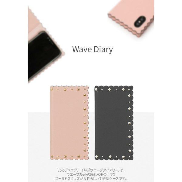 iPhoneXS / iPhoneX ケース Eblouir iPhone XS / X Wave Diary エブルイ ネコポス不可|ec-kitcut|03