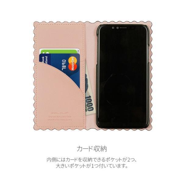 iPhoneXS / iPhoneX ケース Eblouir iPhone XS / X Wave Diary エブルイ ネコポス不可|ec-kitcut|04
