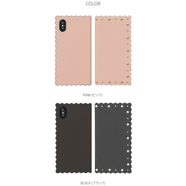 iPhoneXS / iPhoneX ケース Eblouir iPhone XS / X Wave Diary エブルイ ネコポス不可|ec-kitcut|07