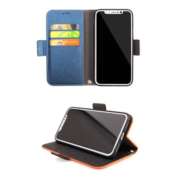iPhoneXS / iPhoneX ケース Corallo iPhone XS / X Nu 手帳型 ケース コラーロ ネコポス可|ec-kitcut|07