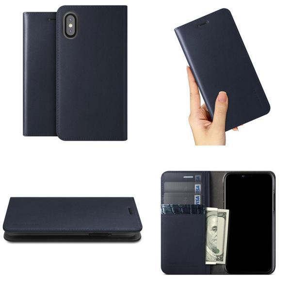 iPhoneXS / iPhoneX ケース VRS DESIGN iPhone XS / X Genuine Leather Diary 本革ケース ブイアールエスデザイン ネコポス不可|ec-kitcut|03