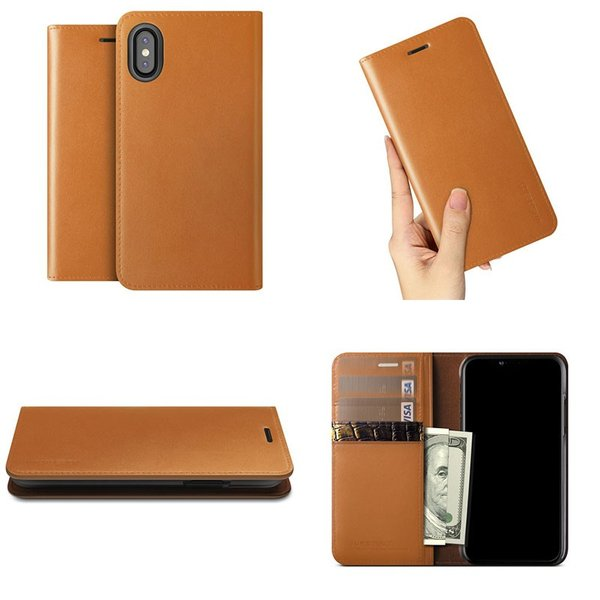 iPhoneXS / iPhoneX ケース VRS DESIGN iPhone XS / X Genuine Leather Diary 本革ケース ブイアールエスデザイン ネコポス不可|ec-kitcut|04