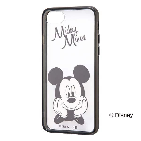 iPhone8 / iPhone7 スマホケース Ray Out レイアウト iPhone 8 / 7 ディズニー ハイブリッドケース ミッキー RT-DP14U/MK ネコポス可|ec-kitcut
