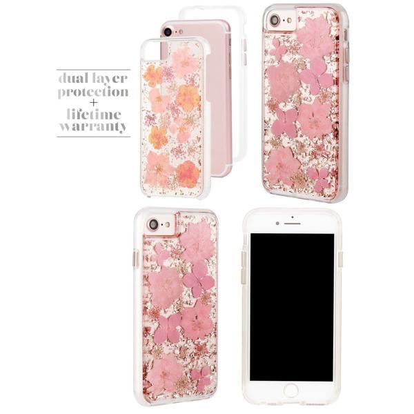 iPhone8 / iPhone7 スマホケース Case-mate iPhone 8 / 7 / 6s / 6 Karat Petals Case ケースメイト ネコポス可|ec-kitcut|04
