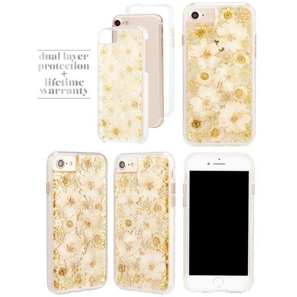 iPhone8 / iPhone7 スマホケース Case-mate iPhone 8 / 7 / 6s / 6 Karat Petals Case ケースメイト ネコポス可|ec-kitcut|05