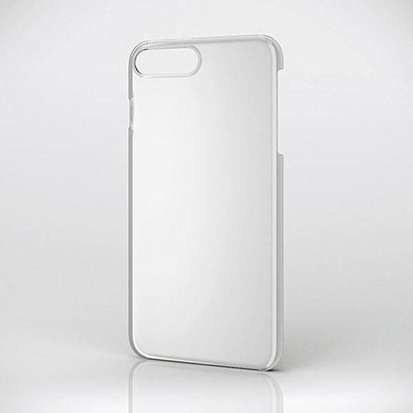 iPhone8Plus/ iPhone7Plus ケース エレコム ELECOM iPhone 8 Plus / 7 Plus 用 シェルカバー クリア PM-A17LPVCR ネコポス可|ec-kitcut|02