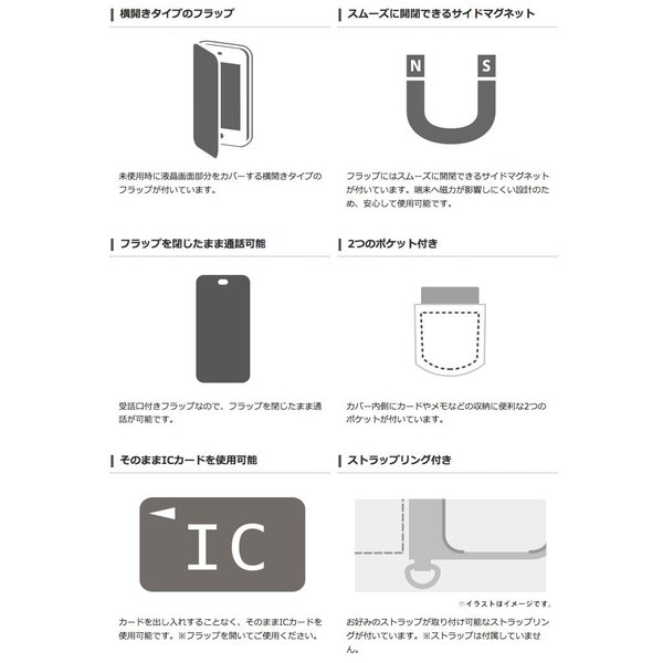 iPhone8 ケース スマホケース エレコム ELECOM iPhone 8 / 7 Vluno ソフトレザーカバー 磁石付 ブラック PM-A17MPLFYBK ネコポス可|ec-kitcut|05