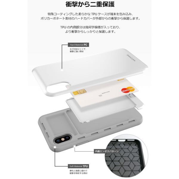 iPhoneXS / iPhoneX ケース MATCHNINE iPhone XS / X CARDLA SLOT マッチナイン ネコポス送料無料|ec-kitcut|06