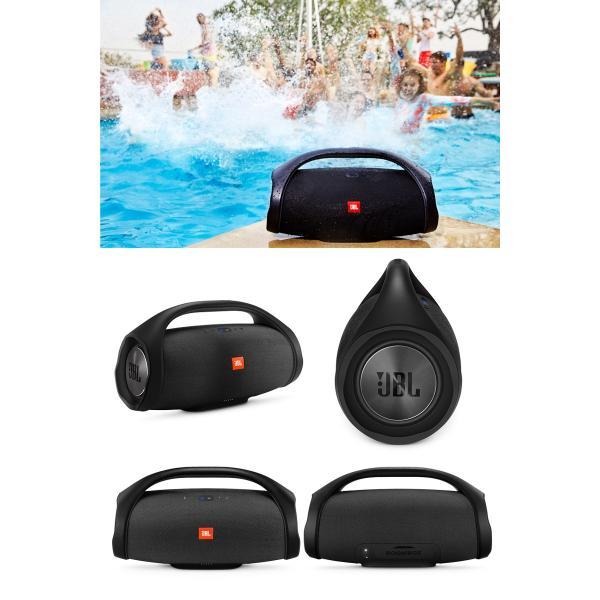 ワイヤレススピーカー 防水 JBL ジェービーエル BOOMBOX Bluetooth ワイヤレス スピーカー 完全防水 ブラック JBLBOOMBOXBLKJN ネコポス不可|ec-kitcut|02