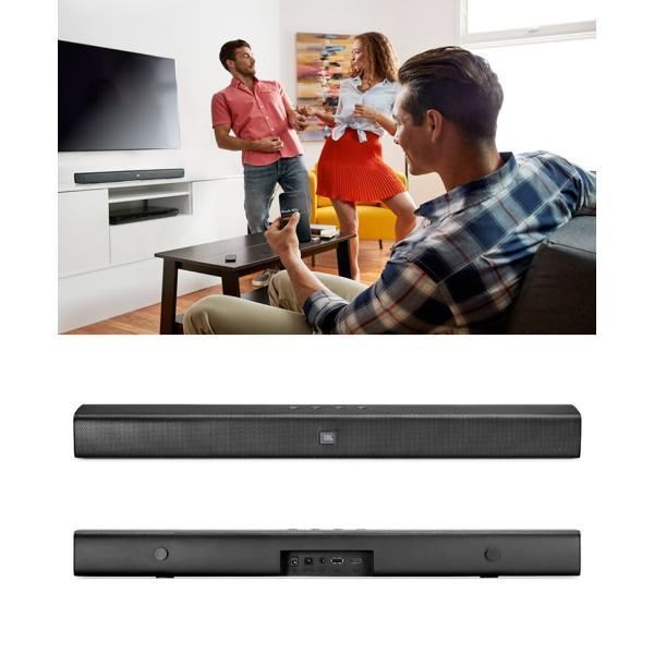 ホームシアタースピーカー JBL ジェービーエル Bar Studio Bluetooth サウンドバー TVスピーカー JBLBARSBLKJN ネコポス不可 2.0ch ホームシアター システム|ec-kitcut|03