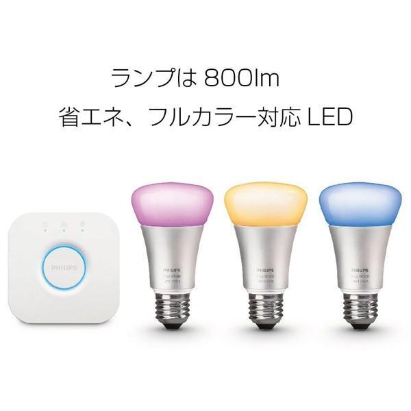 スマートLED照明 ヒュー IoT PHILIPS フィリップス Hue スターターセット v3 Philips Hue Starter set v3 929001367901 ネコポス不可 ec-kitcut 02