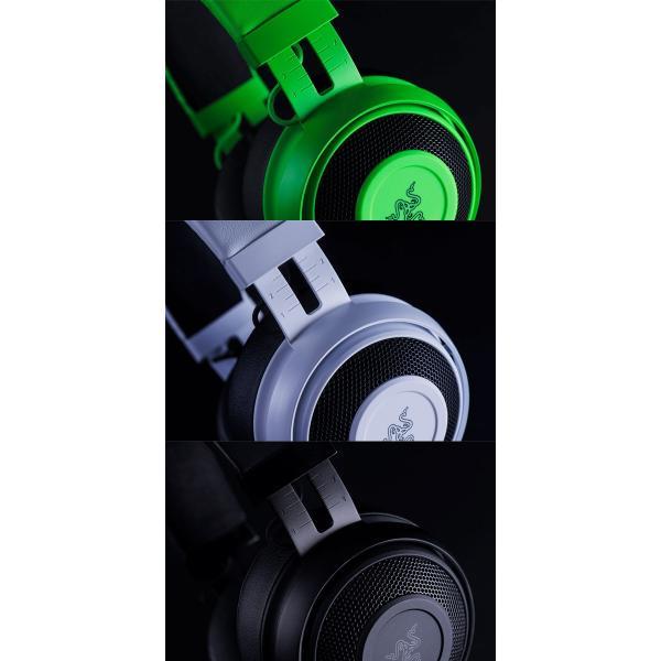 Razer Kraken Pro V2 Oval ゲーミングヘッドセット  レーザー ネコポス不可|ec-kitcut|12