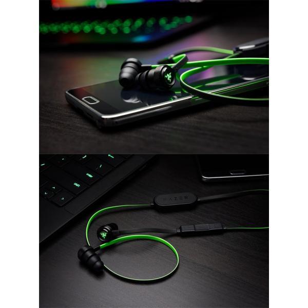 ゲーミングイヤホン ワイヤレス Razer レーザー Hammerhead BT Bluetooth ワイヤレス カナル型 ゲーミングイヤホン RZ04-01930100-R3A1 ネコポス不可|ec-kitcut|03