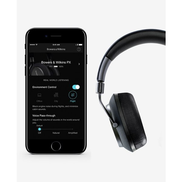 ノイズキャンセリング ヘッドホン B&W バウワース アンド ウィルキンス PX Bluetooth ワイヤレス ヘッドホン スペース・グレイ PX/H ネコポス不可 ec-kitcut 05