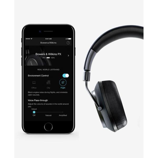 ノイズキャンセリング ヘッドホン B&W バウワース アンド ウィルキンス PX Bluetooth ワイヤレス ヘッドホン ソフト・ゴールド PX/G ネコポス不可|ec-kitcut|05