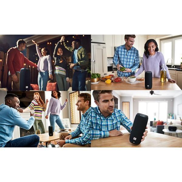 スマートスピーカー JBL LINK 20 Googleアシスタント搭載 Bluetooth ワイヤレス スマートスピーカー  ジェービーエル ネコポス不可|ec-kitcut|06