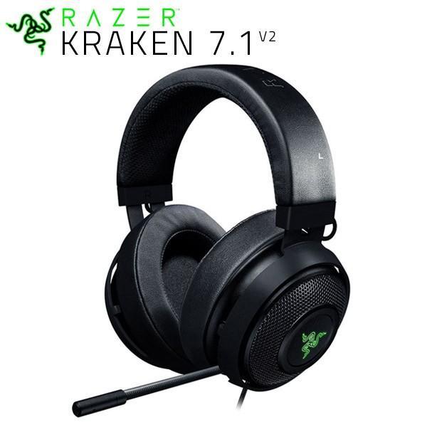 Razer レーザー Kraken 7.1 V2 7.1ch バーチャルサラウンド USB接続 ゲーミングヘッドセット Oval RZ04-02060200-R3M1
