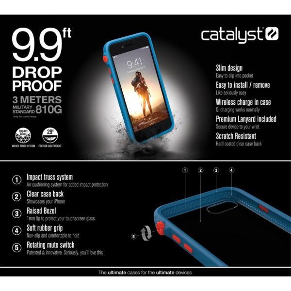 iPhone8 ケース 耐衝撃 Catalyst iPhone 8 / 7 衝撃吸収ケース  カタリスト ネコポス可 ec-kitcut 10