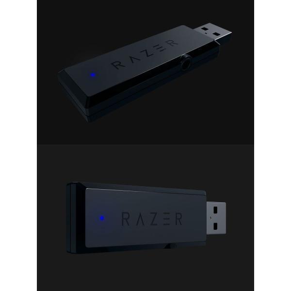 ゲーミングヘッドセット Razer レーザー Thresher 7.1ch ワイヤレス ゲーミングヘッドセット RZ04-02230100-R3M1 ネコポス不可 国内正規品 ec-kitcut 04