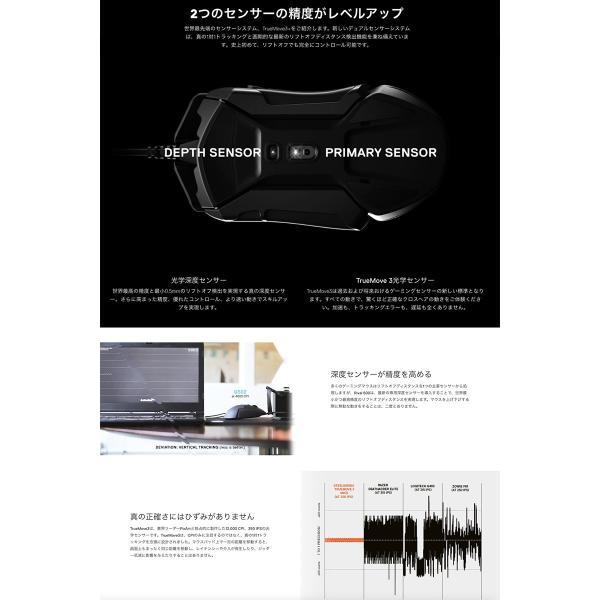 ゲーミングマウス SteelSeries スティールシリーズ Rival 600 光学式 ゲーミングマウス 62446 ネコポス不可|ec-kitcut|03