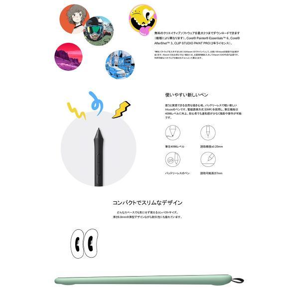 ペンタブレット WACOM Intuos Small ワイヤレス  ワコム ネコポス不可 ec-kitcut 08