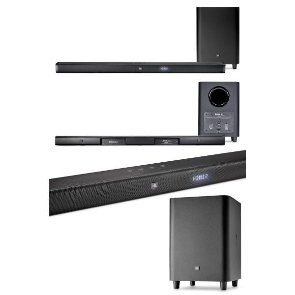 ホームシアタースピーカー JBL ジェービーエル Bar 3.1 450W Bluetooth ワイヤレス ホームシアタースピーカー JBLBAR31BLKJN ヤマト便配送|ec-kitcut|02