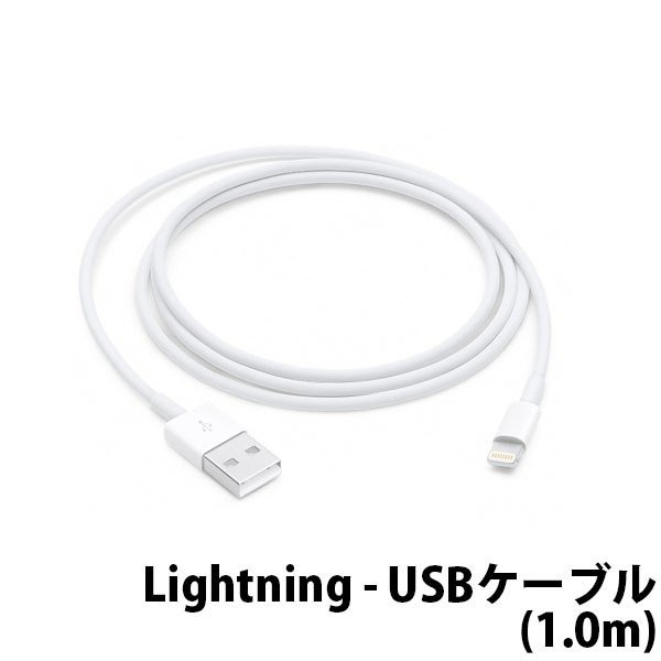 APPLE Lightning-USBケーブル MQUE2AM/Aの画像