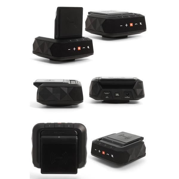 ワイヤレススピーカー JBL ジェービーエル SMARTBASE Qi対応 5W オンダッシュ Bluetooth スピーカー ブラック JBLSMARTBASEWLBLK ネコポス不可|ec-kitcut|02