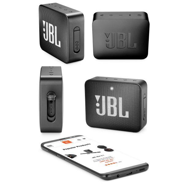 ワイヤレススピーカー JBL GO2 防水対応IPX7 Bluetooth ワイヤレス コンパクト スピーカー ジェービーエル ネコポス不可|ec-kitcut|04