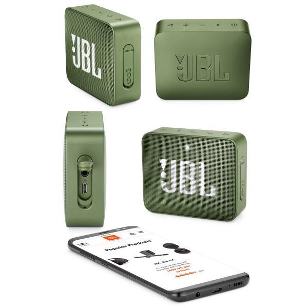 ワイヤレススピーカー JBL GO2 防水対応IPX7 Bluetooth ワイヤレス コンパクト スピーカー ジェービーエル ネコポス不可|ec-kitcut|07