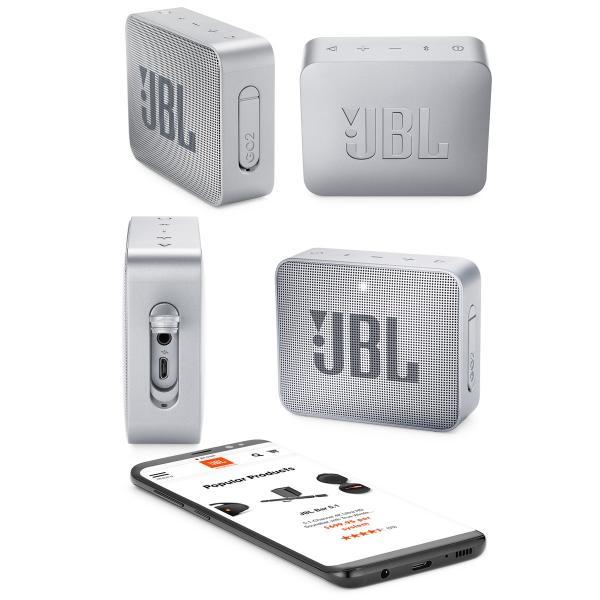 ワイヤレススピーカー JBL GO2 防水対応IPX7 Bluetooth ワイヤレス コンパクト スピーカー ジェービーエル ネコポス不可|ec-kitcut|09
